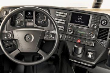 mercedes actros cruise control