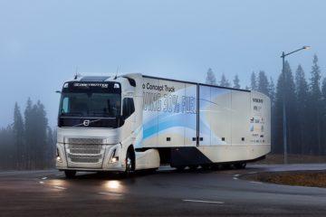 Nuovo prototipo ibrido Volvo con catena ibrida