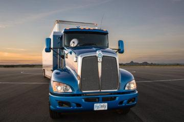 Il nuovo prototipo camion a idrogeno della Toyota