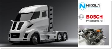 Nikola Motor Company e Bosch lanciano il camion elettrico