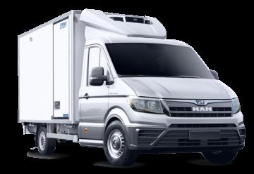 Lamberet Man TGE nuovo mezzo per il trasporto frigorifero