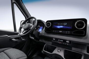 Il nuovo van Sprinter della Mercedes