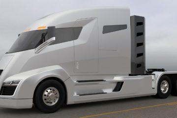 Un camion elettrico Nikola Motor