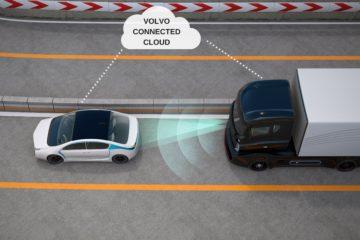 Volvo Trucks lancia Connected Safety per maggiore sicurezza alla guida