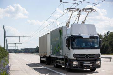 Germania, due camion Scania saranno testati sulle autostrade elettrificate