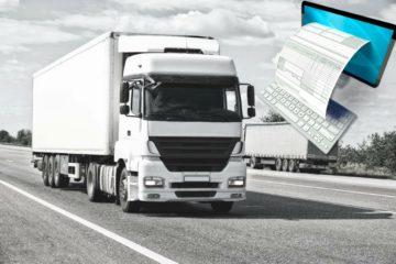 Targa di un camion obbligatoria su fattura elettronica