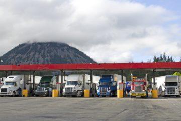 rifornimento gasolio camion