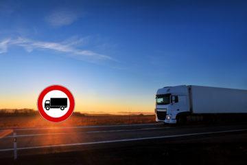 circolazione camion e mezzi pesanti