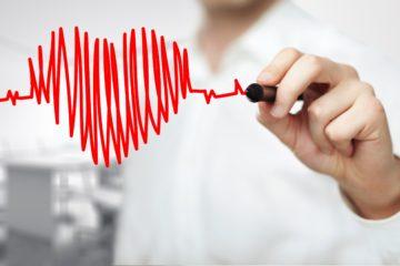 cuore disegnato