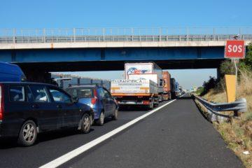mezzi circolanti autostrada laziale