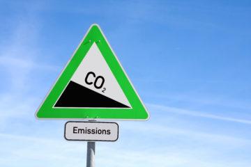cartello emissioni co2 camion