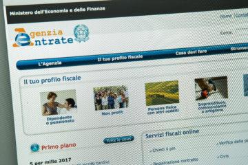 sito agenzia delle entrare per rimborso accise