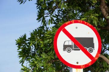 divieto di circolazione camion aurelia