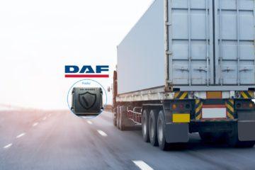 camion logo daf sistema City Turn Assistant Side Defender