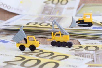 camion giocattolo banconote euro