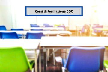 aula vuota corsi di formazione CQC
