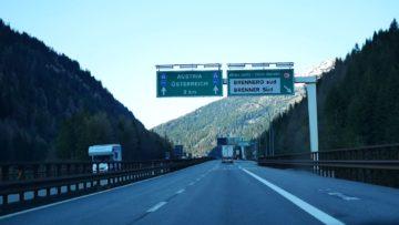 autostrada asse brennero confine italia austria